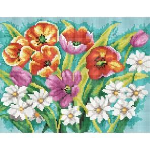 Прекрасные цветы Алмазная вышивка (мозаика) Белоснежка