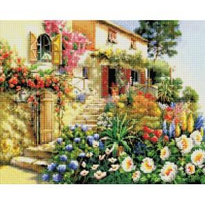 Итальянский дворик Алмазная вышивка (мозаика) Белоснежка