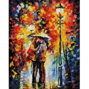Поцелуй под дождем Алмазная вышивка (мозаика) Белоснежка