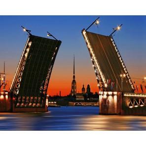Дворцовый мост Алмазная вышивка мозаика Гранни