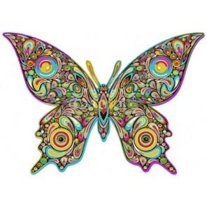 Бабочка Раскраска по номерам акриловыми красками на холсте Menglei