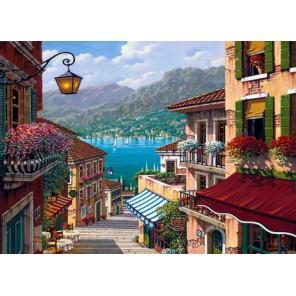 Средиземноморье Раскраска по номерам акриловыми красками на холсте Menglei