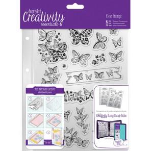 Бабочки Creativity Essentials Штампы для скрапбукинга, кардмейкинга Docrafts
