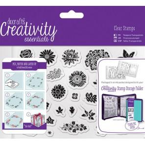 Цветы разные Creativity Essentials Штампы для скрапбукинга, кардмейкинга Docrafts