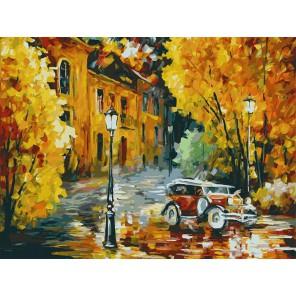 Город Раскраска картина по номерам акриловыми красками на картоне Белоснежка