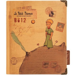 Принц на астероиде Ежедневник, блокнот книжка для скрапбукинга Белоснежка