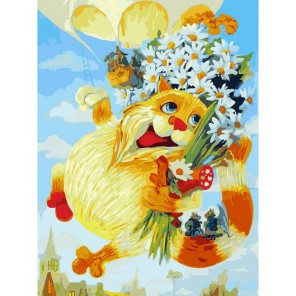 День рождения Раскраска картина по номерам акриловыми красками на холсте Белоснежка