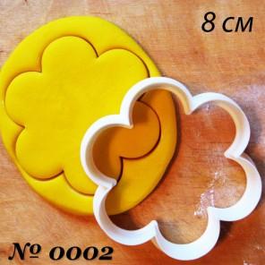 Цветок с шестью лепестками Форма для вырезания печенья и пряников