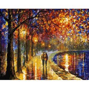 Пара у озера Раскраска картина по номерам акриловыми красками на холсте Белоснежка