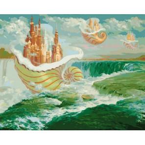 Свежий ветер Раскраска картина по номерам акриловыми красками на холсте Белоснежка
