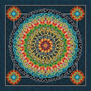 Сила духа Алмазная вышивка мозаика на подрамнике Белоснежка