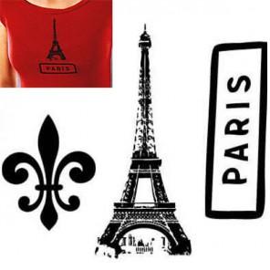 Париж Термонаклейка Plaid