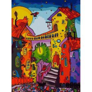 Цветные коты Раскраска картина по номерам акриловыми красками на холсте Белоснежка