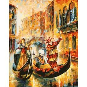 Венецианская гондола Раскраска картина по номерам акриловыми красками на холсте Белоснежка