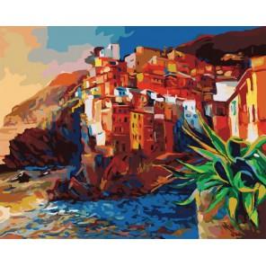 Побережье Раскраска картина по номерам акриловыми красками на холсте Белоснежка