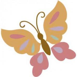 Бабочка Термонаклейка- вышивка Plaid