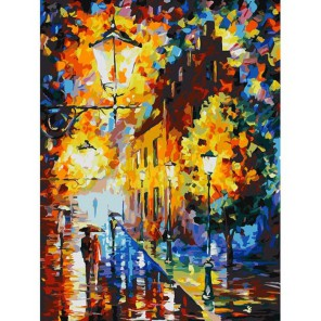 Огни в ночи Раскраска картина по номерам акриловыми красками на холсте Белоснежка