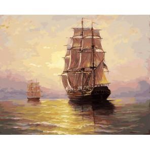 По водной глади Раскраска картина по номерам акриловыми красками на холсте Белоснежка