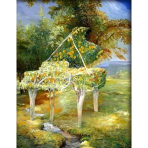 Апельсиновый рояль Алмазная частичная вышивка (мозаика) Color Kit