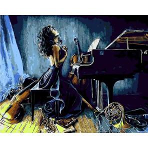 Со страстью Раскраска картина по номерам акриловыми красками на холсте Menglei