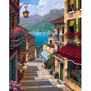 Дорога к морю Алмазная вышивка мозаика Гранни