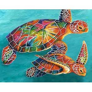 Морские черепахи Алмазная вышивка мозаика Гранни