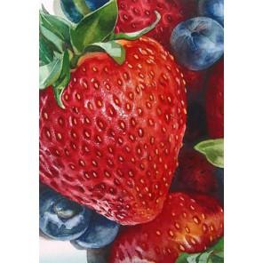 Спелые ягоды Алмазная вышивка мозаика Гранни