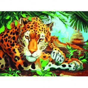 Хранитель джунглей Раскраска картина по номерам акриловыми красками Color Kit