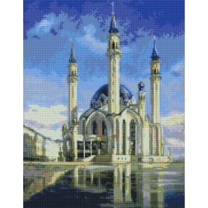 Мечеть Кул - Шариф Алмазная вышивка мозаика с рамкой Цветной