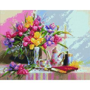 Летняя композиция Алмазная вышивка мозаика Цветной