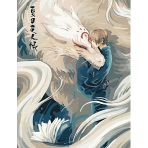 Ручной дракон Раскраска по номерам акриловыми красками на холсте Menglei
