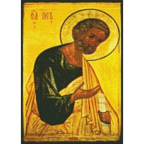 Апостол Петр Алмазная вышивка мозаика Цветной