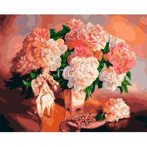 Жемчужная соната Раскраска картина по номерам акриловыми красками на холсте Iteso