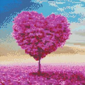 Безмятежная любовь Алмазная вышивка мозаика на подрамнике Белоснежка