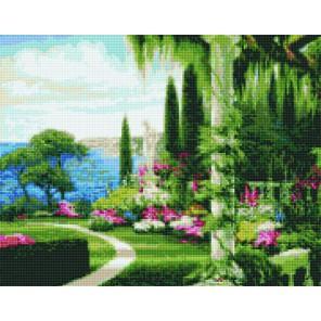 Королевский сад Алмазная вышивка мозаика Цветной