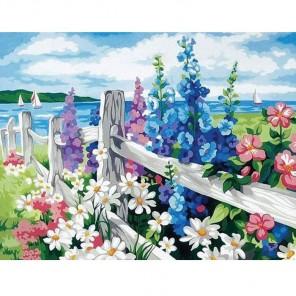 За околицей Раскраска картина по номерам акриловыми красками на холсте Menglei