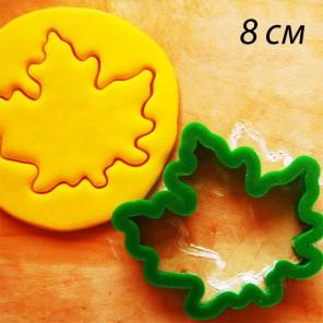 Кленовый лист Форма для вырезания печенья и пряников