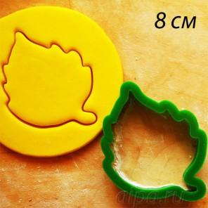 Березовый лист Форма для вырезания печенья и пряников