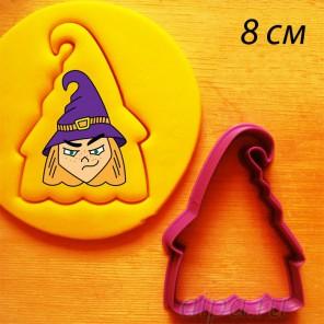 Ведьмочка Анна Форма для вырезания печенья и пряников