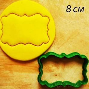 Рамочка Форма для вырезания печенья и пряников