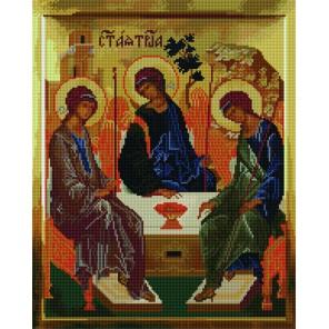 Святая Троица Алмазная мозаика вышивка на подрамнике Molly | Купить алмазную мозаику Молли GZ859