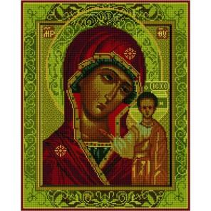 Казанская Божия Матерь Алмазная мозаика вышивка на подрамнике Molly | Купить алмазную мозаику Молли GZ856