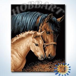 Заботливая Раскраска картина по номерам акриловыми красками на холсте Hobbart