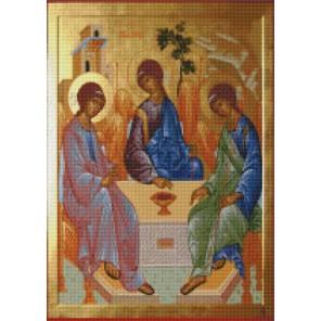 Святая Троица Алмазная вышивка мозаика Цветной