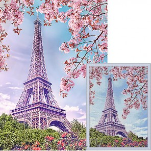 Весна в Париже Алмазная мозаика вышивка Гранни