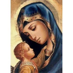 Мадонна и дитя Алмазная мозаика вышивка Гранни