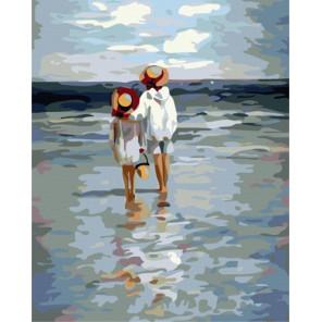 Летние каникулы Раскраска картина по номерам акриловыми красками на холсте   Картина по номерам купить