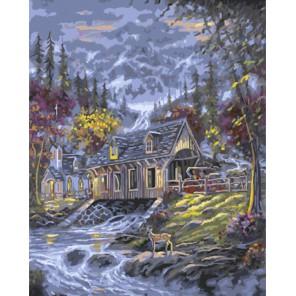 Теплый вечер Роберта Файнэл (Robert Finale) Раскраска картина по номерам акриловыми красками на холсте