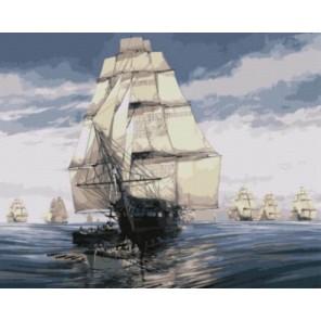 Флотилия Тома Фримана Раскраска картина по номерам акриловыми красками на холсте | Картина по номерам купить