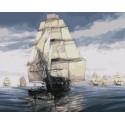Флотилия Тома Фримана Раскраска картина по номерам акриловыми красками на холсте